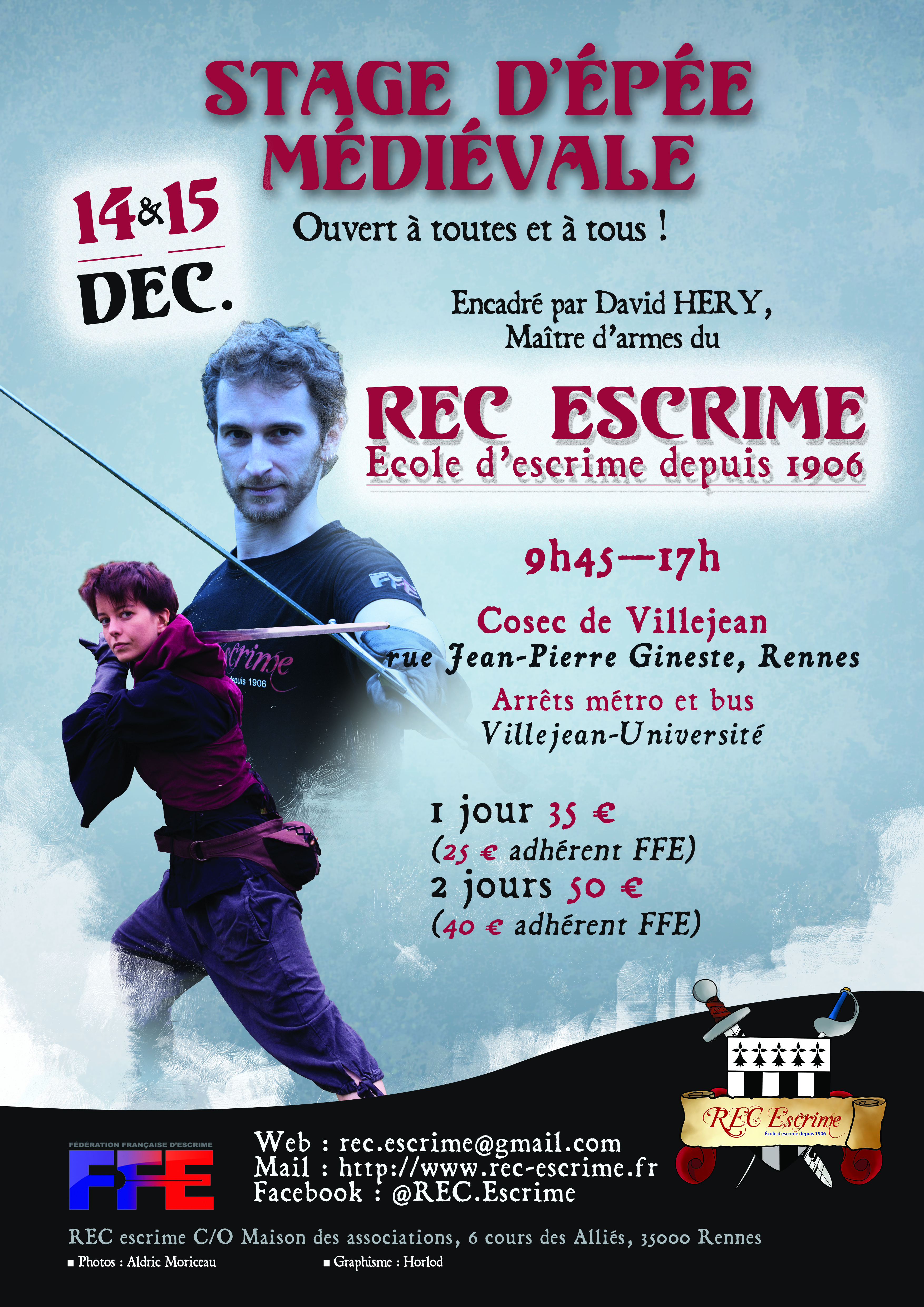 Affiche stage hiver 2019